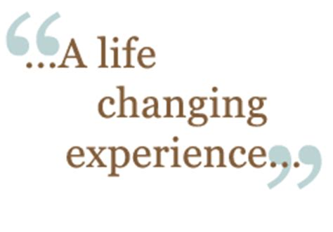 An experience that changed my life Essay Example for Free